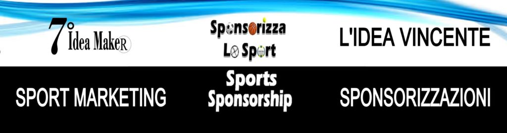 7 IDEA MAKER MARKETING SPORTIVO SPONSOR