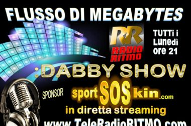 FLUSO DI MEGABYTES A RADIORITMO SPORTSOSKIN DIGITALSOCIAL.MARKETING