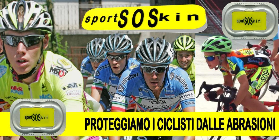 Proteggiti dalle grattugiate sull'asfalto con sportSOSkin