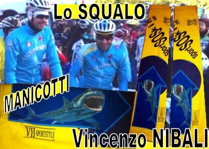 banner VINCENZO NIBALI e i MANICOTTI SPORTSOSKIN
