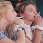 ragazze che fumano