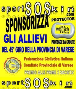 sportSOSkin sponsorizza la Federazione Ciclistica Italiana di VARESE