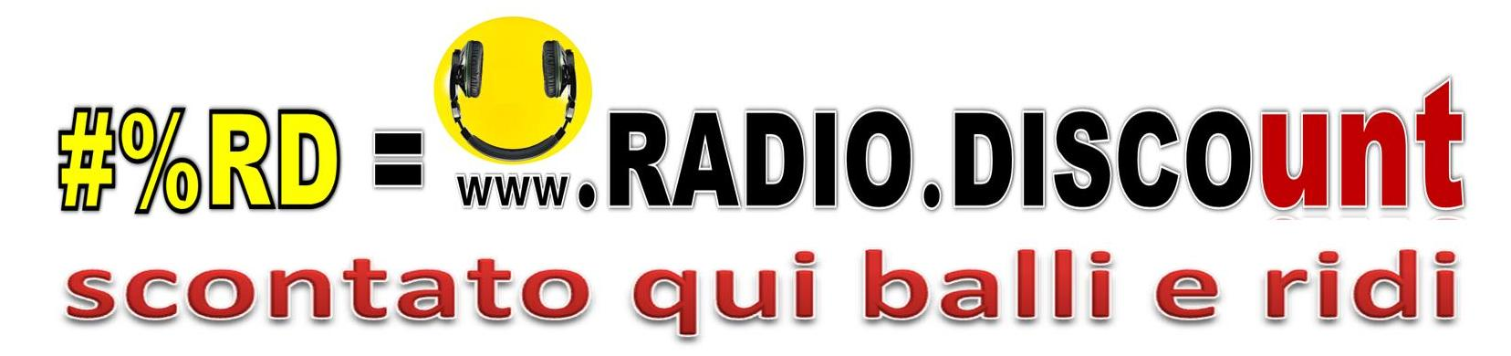 #%RD RADIO DISCOunt smile corto