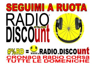 SEGUIMO A RUOTA #%RD RADIO DISCOunt LOGO