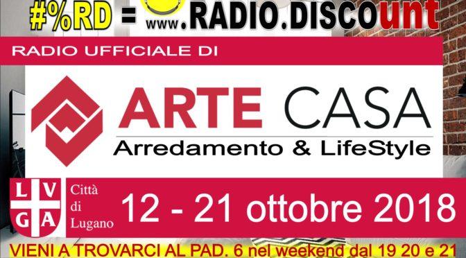 sportSOSkin presente @ ArteCasa @ Lugano partner di RADIO.DISCOunt