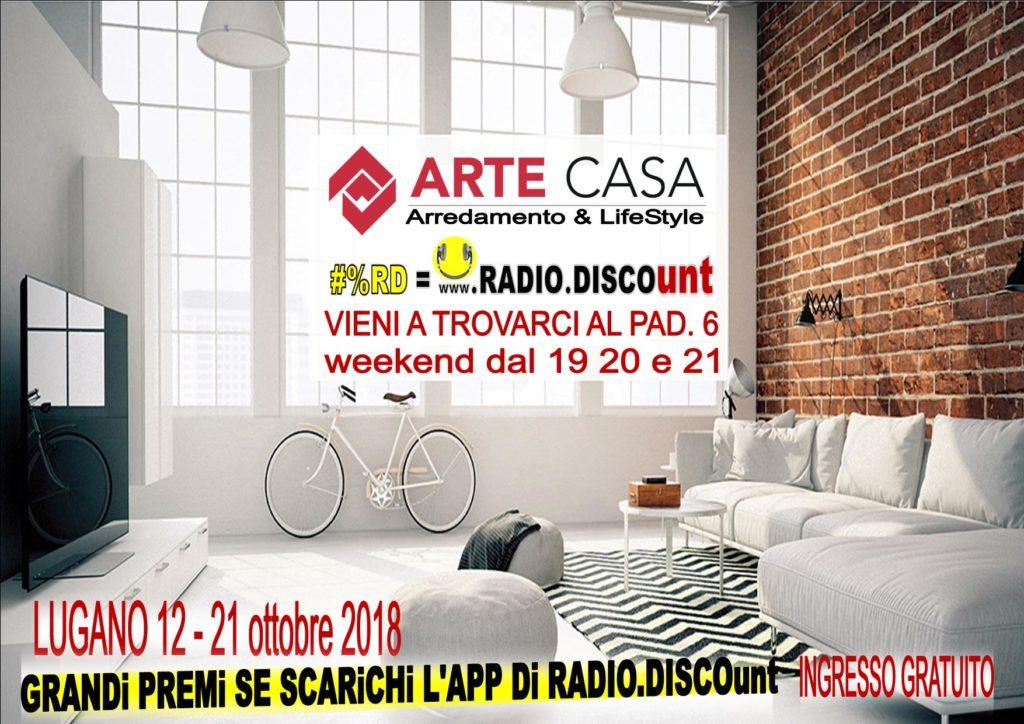#%RD RADIO DISCOunt A arte casa lugano RADIO UFFICIALE
